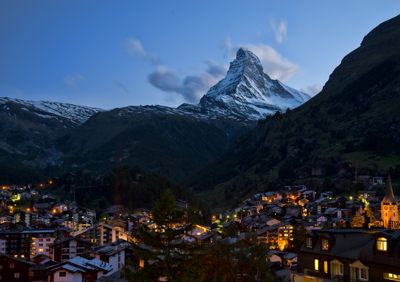 Zermatt - Allegra meets all kinds of danger here. Least of all a man named Sam....