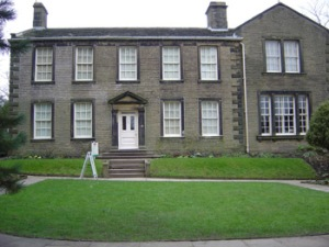 The Bronte Parsonage - pic courtesy of Wikipedia -  A must see for the Bronte aficionado - http://www.bronte.org.uk/