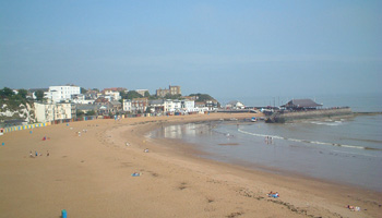 Viking Bay in Broadstairs, Kent