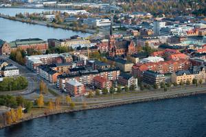 Luleå town centre