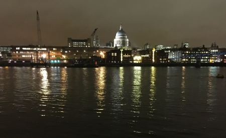 London and the St Pauls Skyline as seen in the books. Pic courtesy of C Fowler