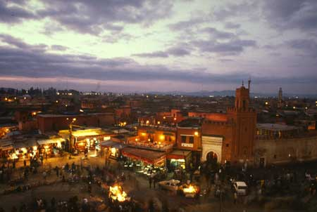 A souk at Night (c) Pamela Windo