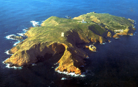 The stunning Berlengas Islands off the coast of Portugal, where Dawnay defies the conventions of her day and travels alone to begin her scientific investigations in situ. (Photo courtesy of Rebecca)