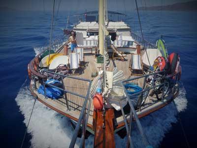 Sailing Lucy Clarke style (c) Lucy Clarke