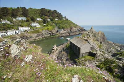 Polperro harbour - (c) Adam Gibbard and Visit Cornwall